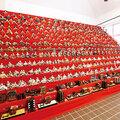 小松姫没400年、びっくりひな飾り