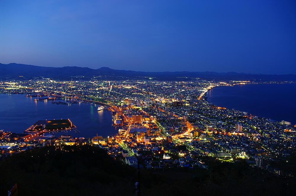 """フルムーン夫婦グリーンパスで北へ 函館の街を歩き""""あの頃""""に出会う"""