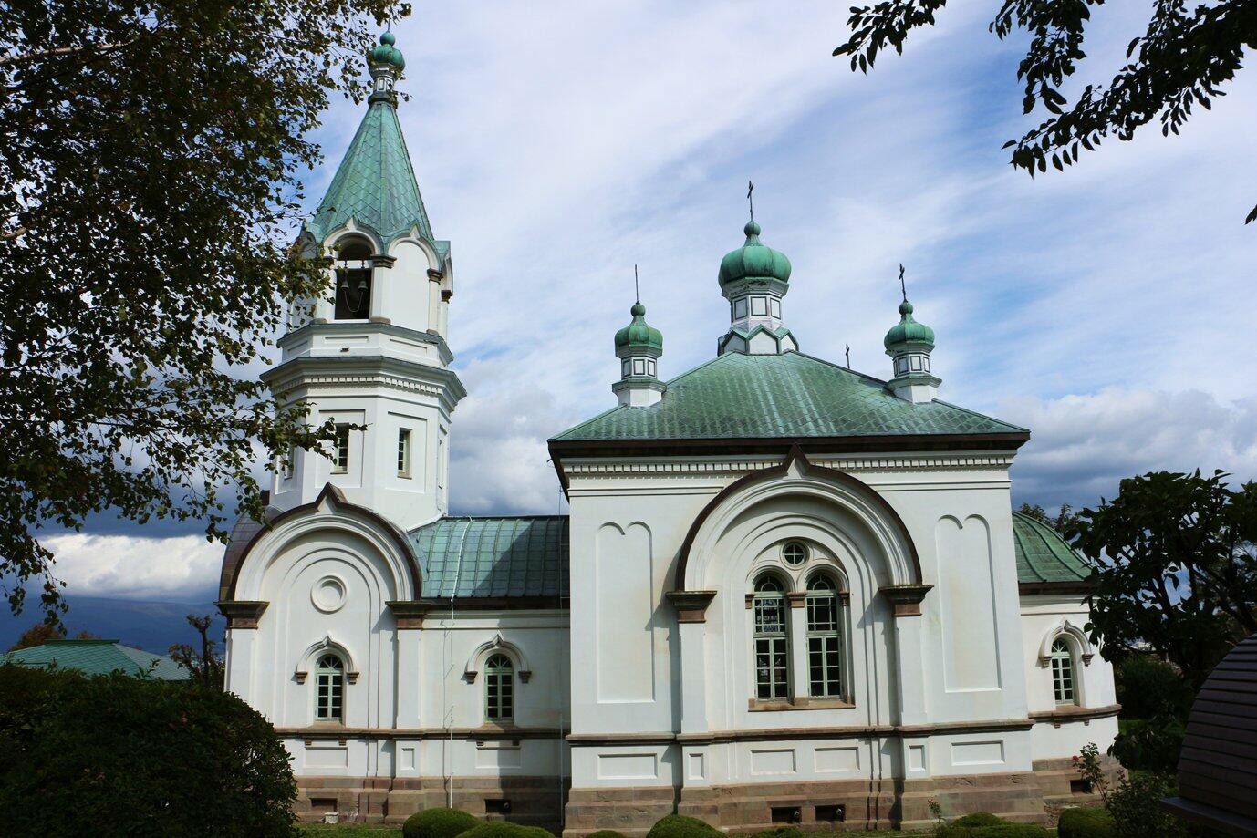 1858年、日本で最初の領事館が箱館に置かれたことに端を発する函館ハリストス正教会