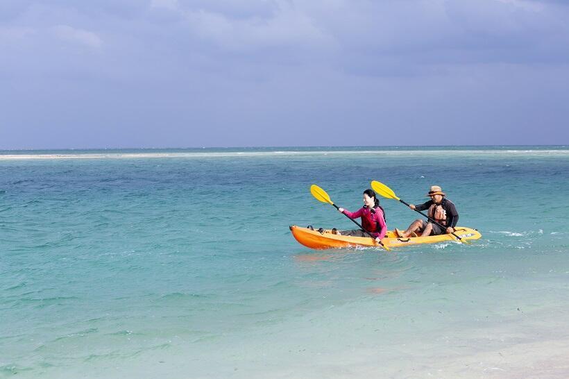 海も山もある沖縄の離島 久米島、島あそび