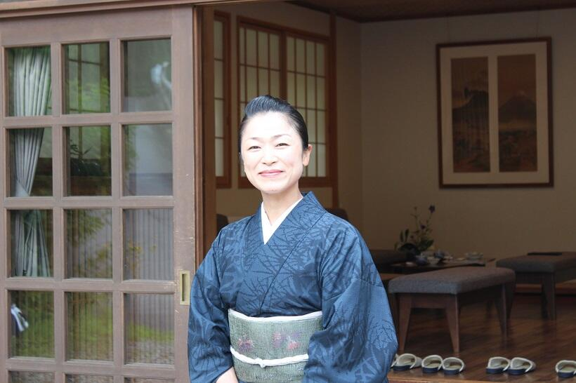 女将の大谷郁美さん
