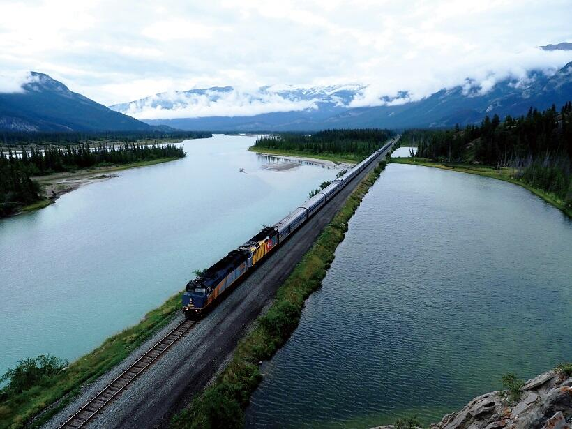 大陸横断鉄道「ザ・カナディアン」の旅