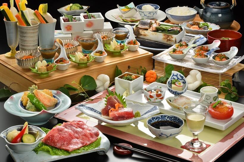 浅香荘 夕食