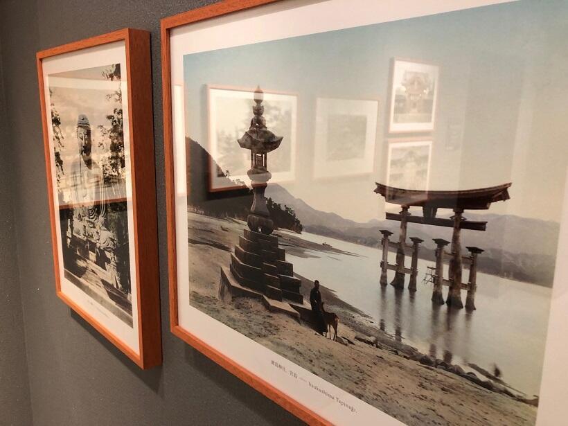 宮島・厳島神社の大鳥居、鎌倉の大仏(ユルドゥズ宮殿写真コレクションから)