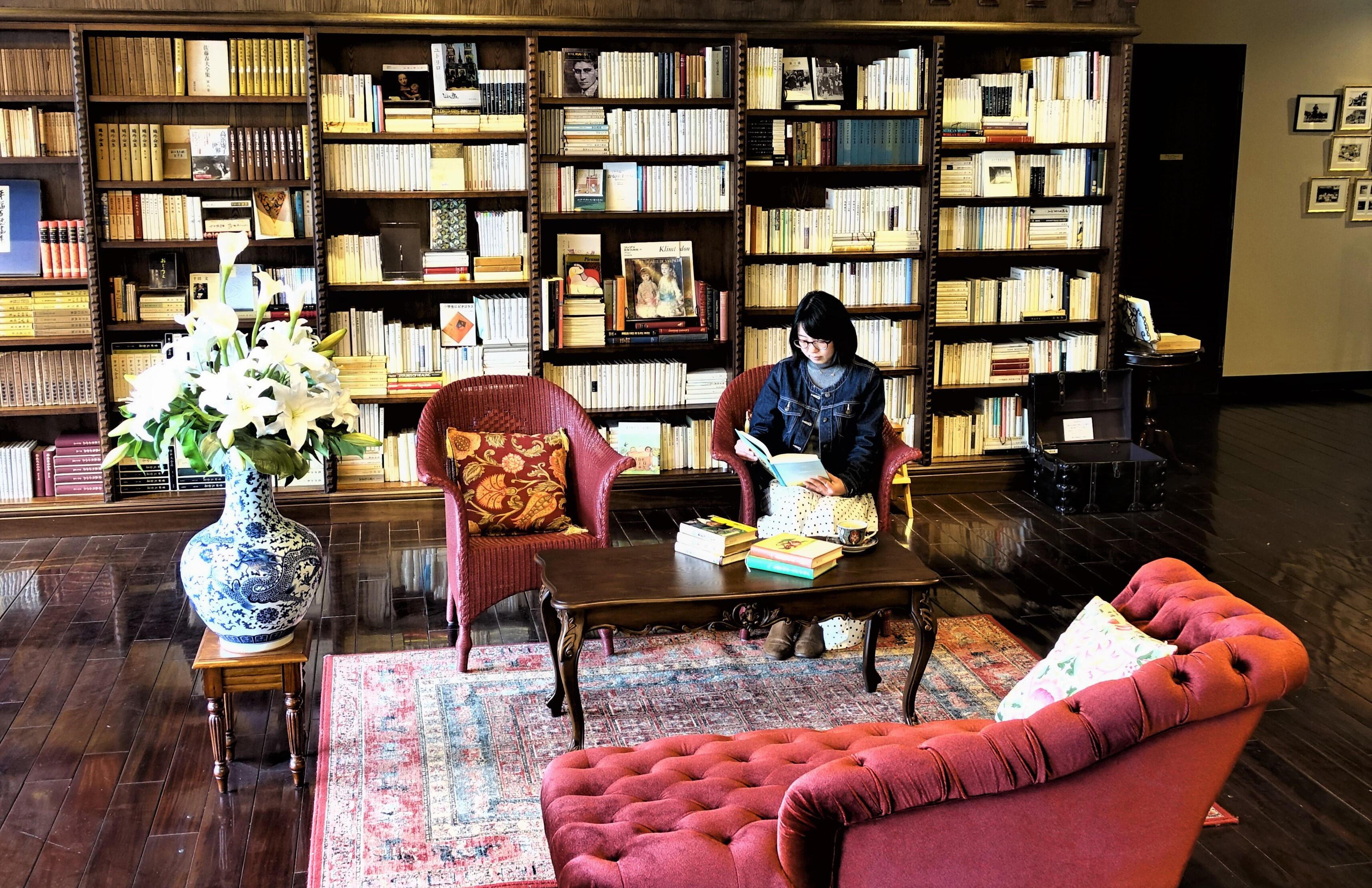 蓼科の温泉宿で読書ステイ