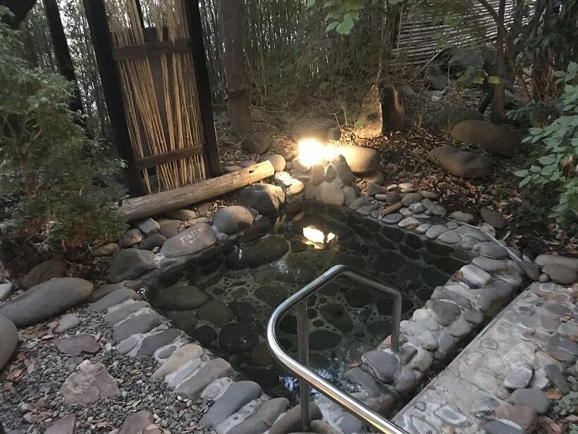 亀清旅館の露天風呂