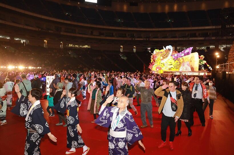 東京ドームに全国の祭り&グルメが集結