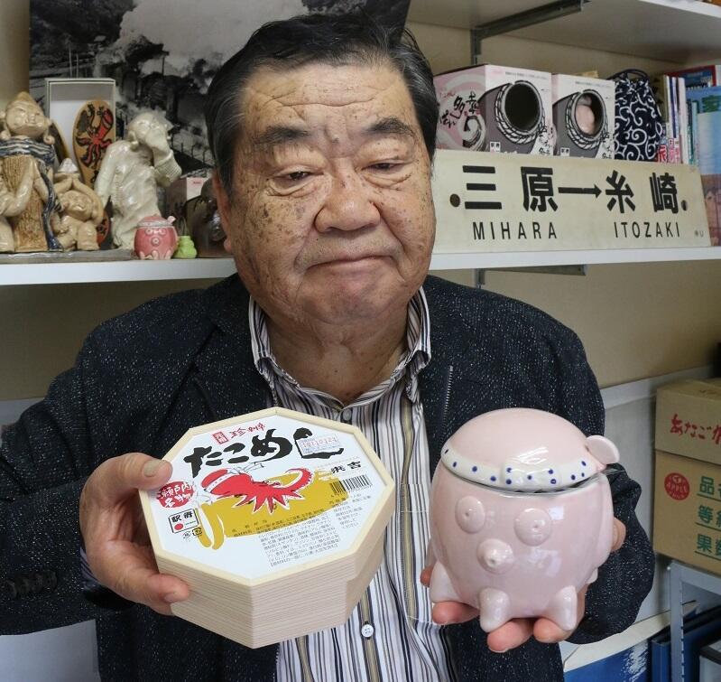 「浜吉」社長の赤枝俊郎さん
