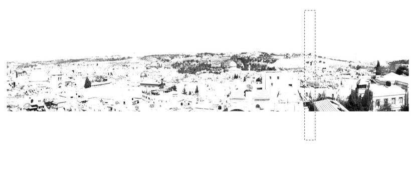 QRコードはエルサレムの特定の場所にリンクする©Lila Chitayat | STUDIO LinC + STUDIOPEZ