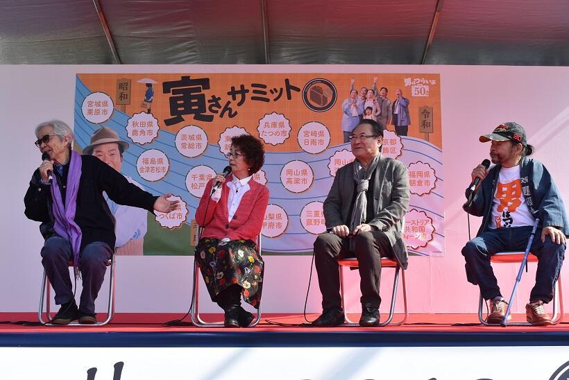 映画「男はつらいよ」の山田監督、おなじみの出演者たちが語る「柴又」「寅さん」(1)