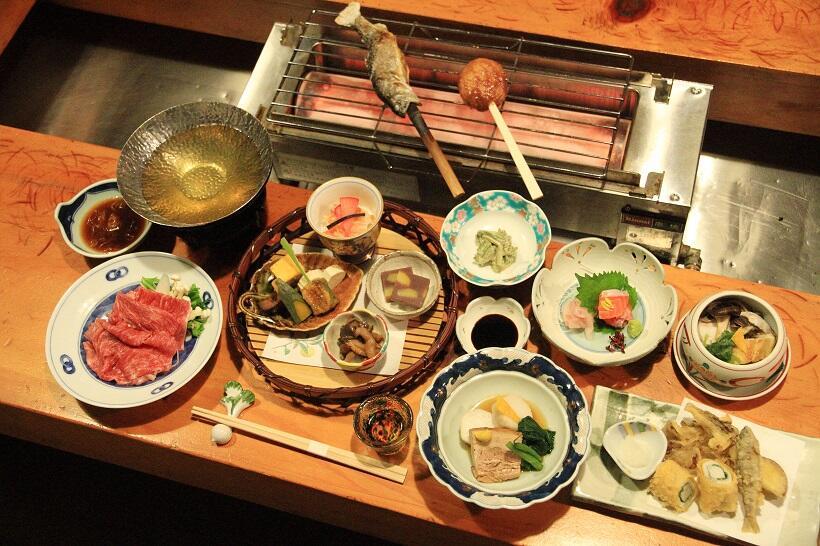 孫九郎夕食