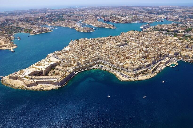 地中海の島国マルタへの旅(3)キリスト教世界の最前線を守った「要塞都市」
