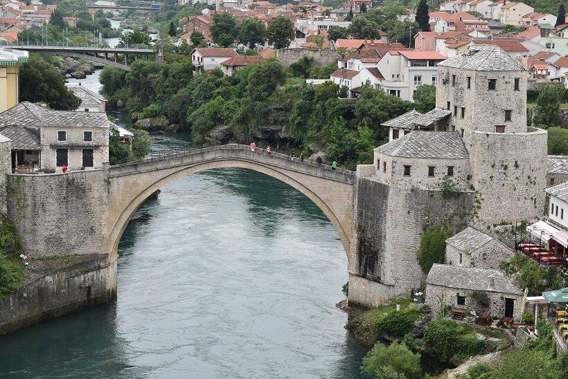 ボスニア・ヘルツェゴビナへの旅(1)モスタルの世界遺産「古い橋」