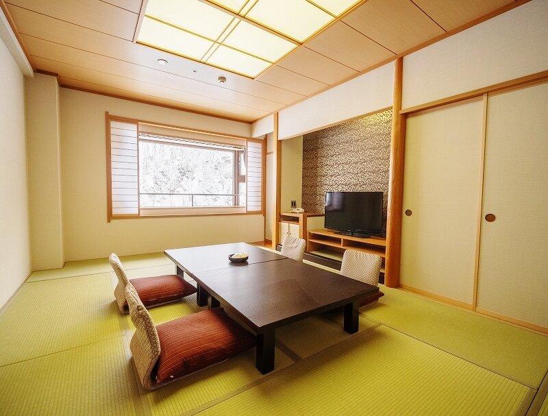 ひとり泊で利用できる和室