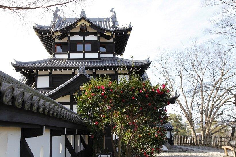 高田城のシンボル「三重櫓」