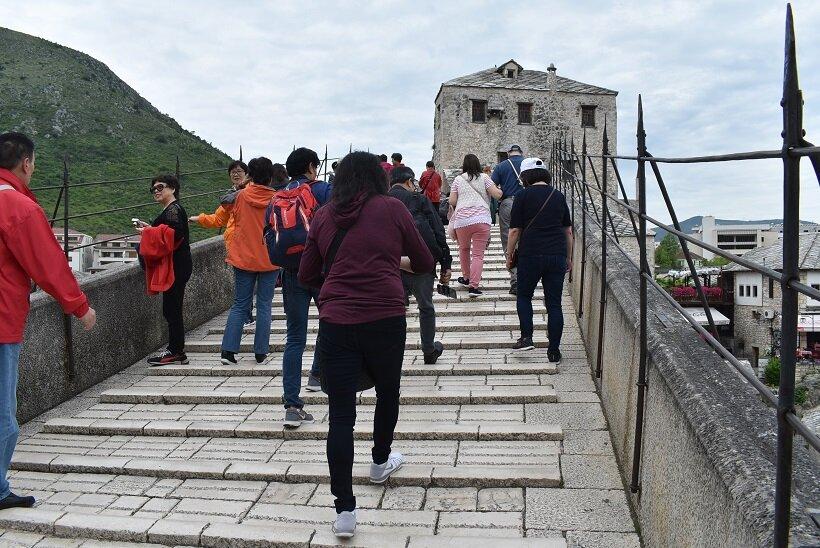 ボスニア・ヘルツェゴビナへの旅(2)モスタルに残るトルコ文化の影響