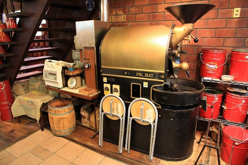 スマート珈琲焙煎機