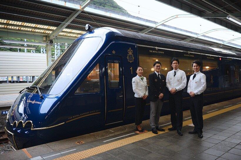 横浜発の豪華列車「ザ・ロイヤルエクスプレス」で南伊豆へ(2)