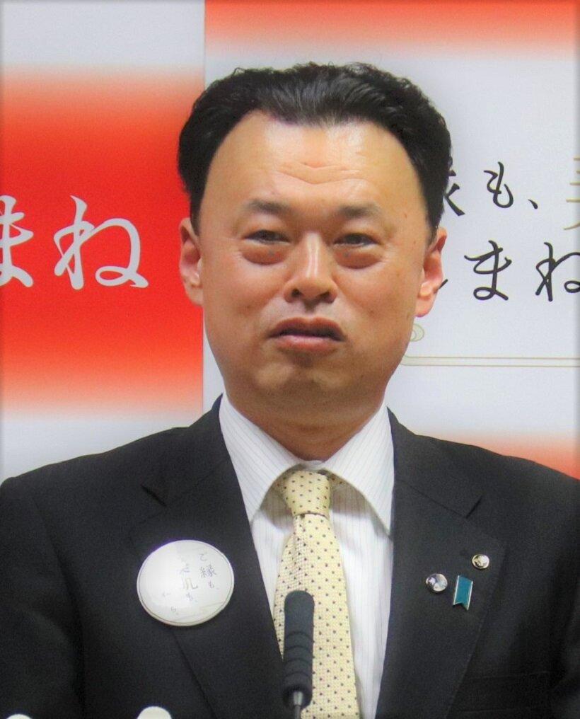 スペシャルインタビュー 丸山達也・島根県知事(前)