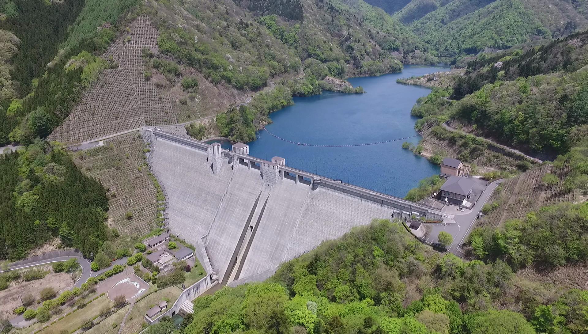 絶景ダムを巡りダムカード収集(2)