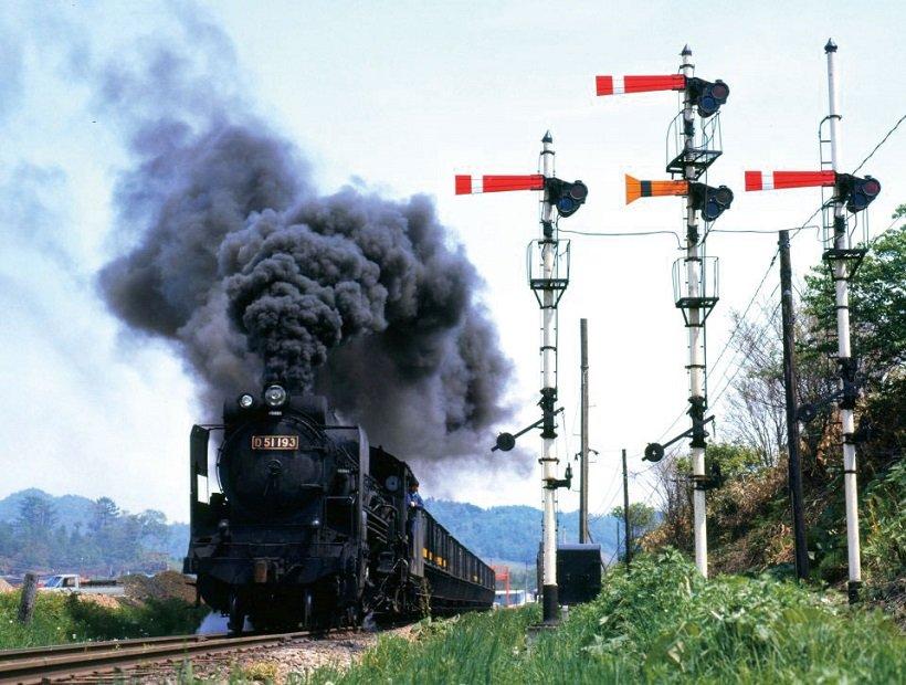 鉄道博物館でSL写真展