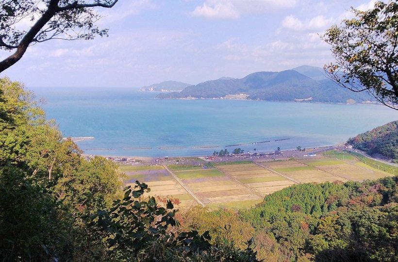 国吉城址(福井・美浜町)
