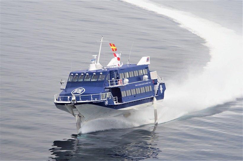 高速ジェット船で行こう! 早春の千葉・館山へ