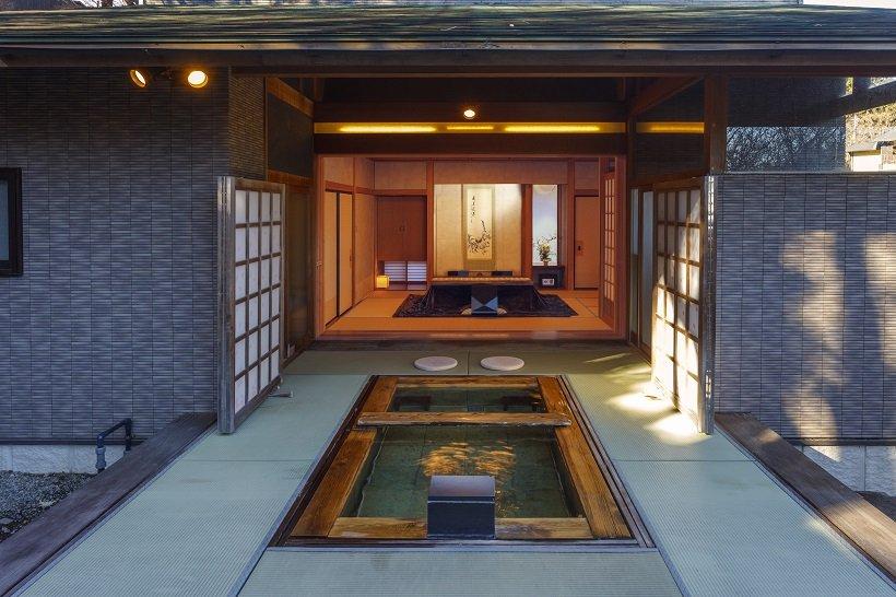 全客室に露天風呂の宿 山屋蒼月(群馬・赤城高原温泉)