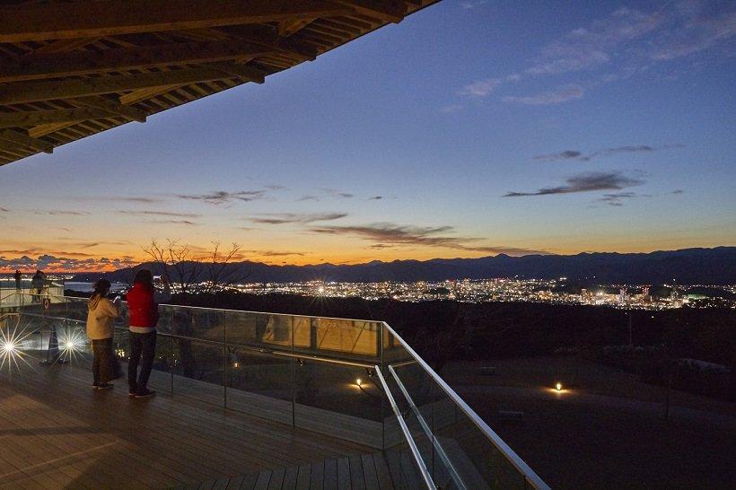 日本平夢テラスから眺める、この時期だけの富士の絶景(2)