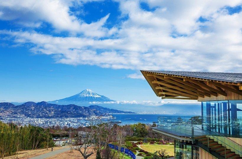 日本平夢テラスから眺める、この時期だけの富士の絶景(1)