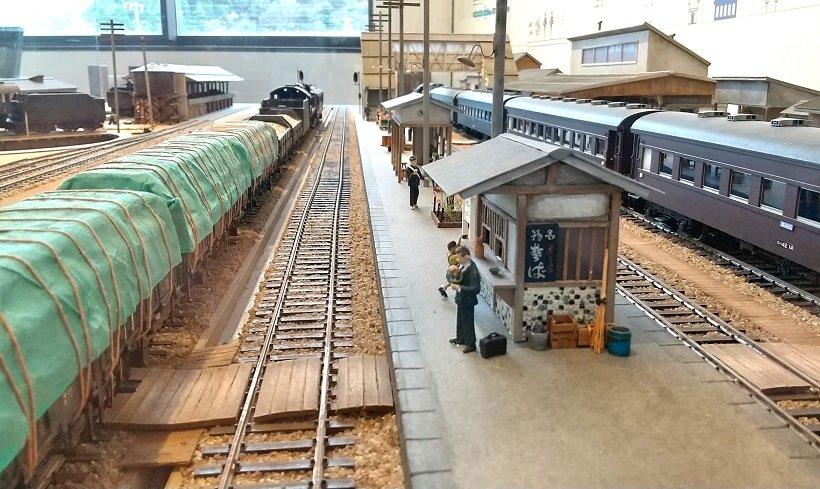 今庄駅の大ジ オラマ