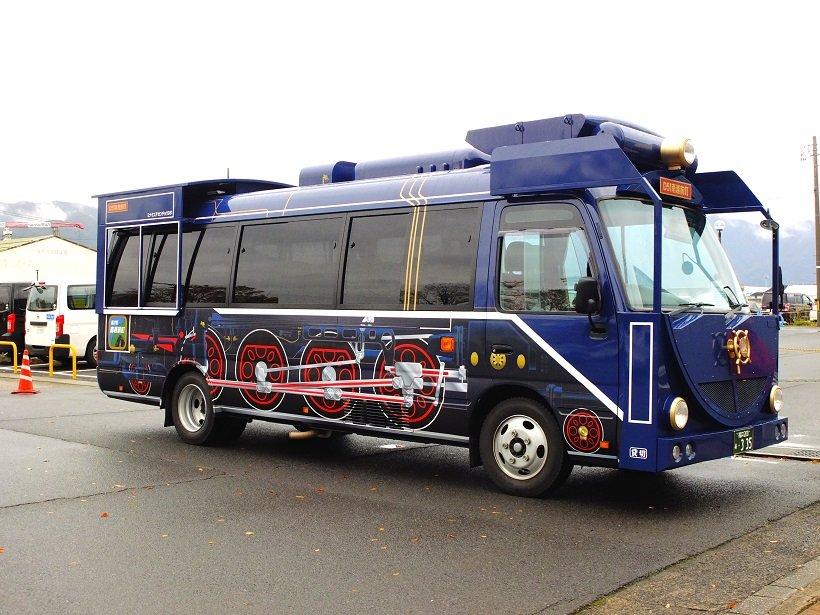 今庄のD51バス