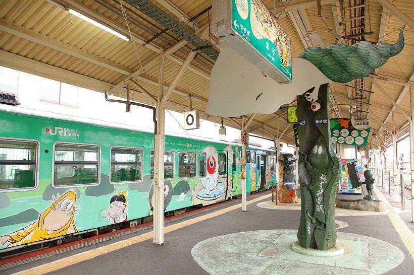 米子駅0番線