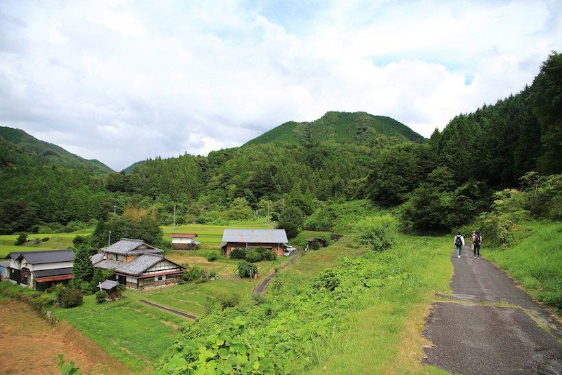 いにしえの歴史道、中山道・与川道で里山歩き(1)