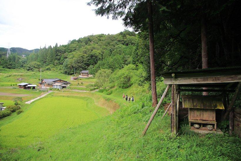 いにしえの歴史道、中山道・与川道で里山歩き(2)